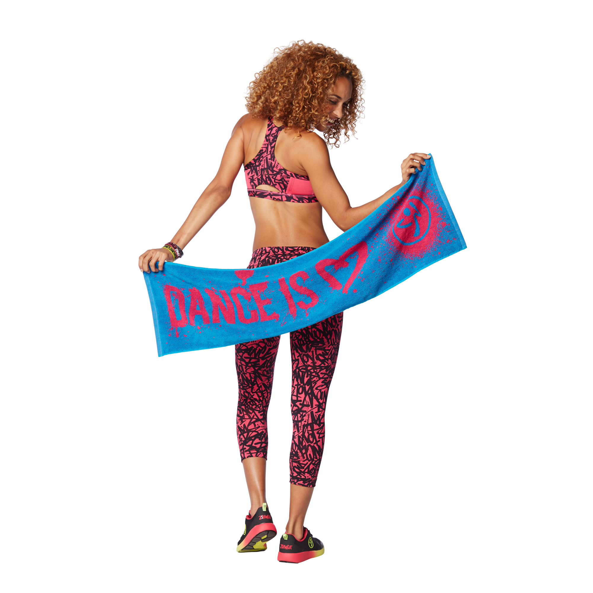 Dance Is Fitness Towels 2pk  ced04073c24