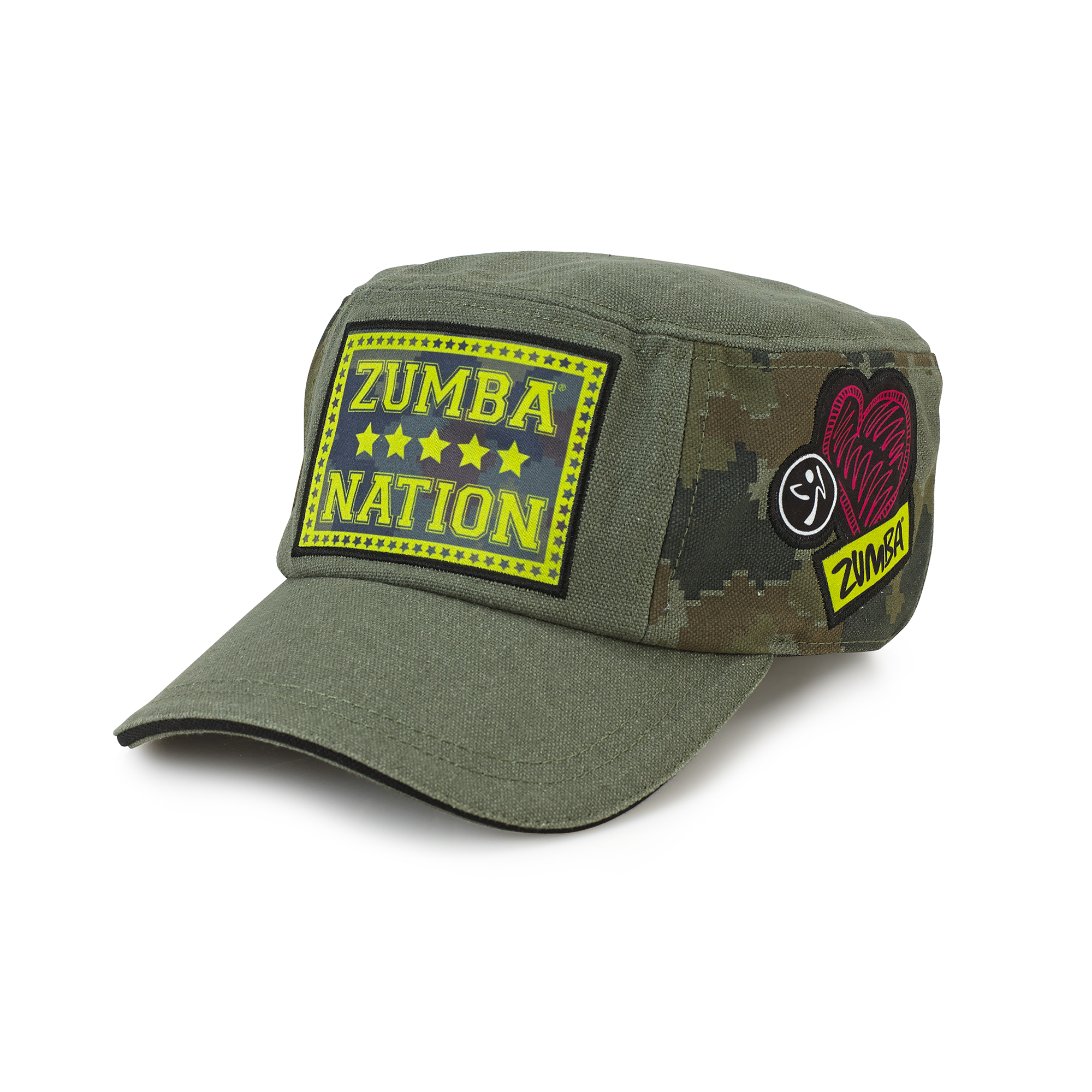Patched Up Military Hat Zumba Shop Seazumba Shop Sea
