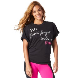 Don't Forget to Dance Graphic Tee