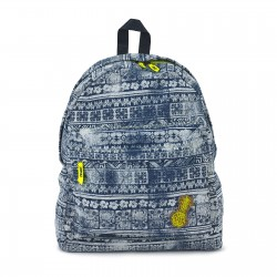 Let's Escape Denim Backpack