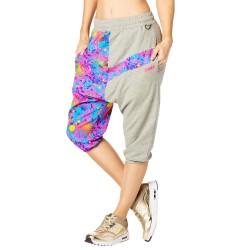 Queen Of The Jungle Harem Capri Pants