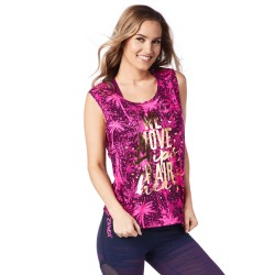 Move Hair Hips Heart Tank