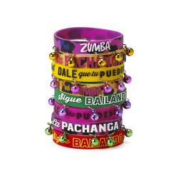 La Pachanga Rubber Bracelets 8Pk