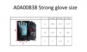 Strong Gloves Size