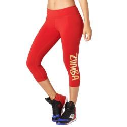 Zumba Shine Capri Leggings