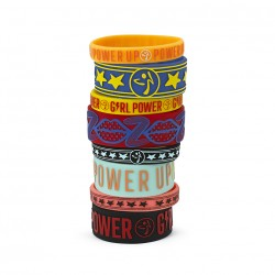 Zumba Power Rubber Bracelets (8PK)