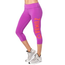 Zumba Has My Heart Capri Legging