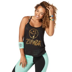 Zumba Hero Open Back Tank