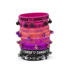 Zumba Has My Heart Rubber Bracelets 8pk