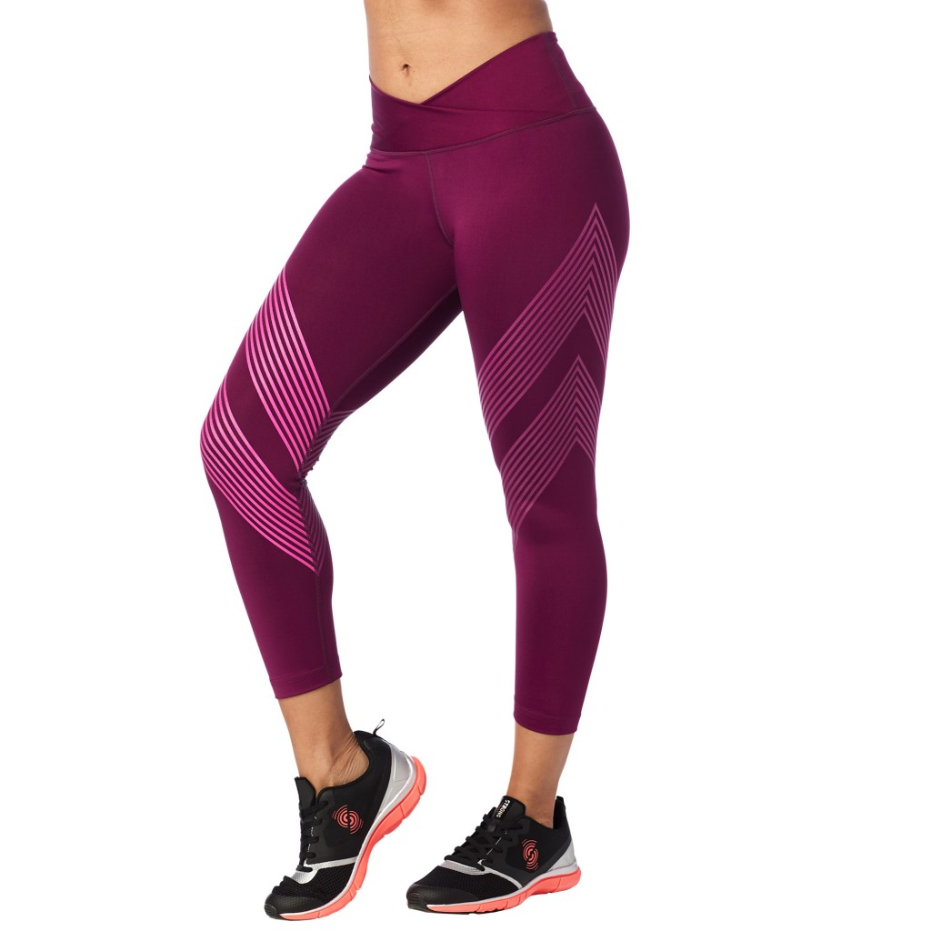 Zumba Fitness Leggings: Strong By Zumba High Waisted Crop Leggings