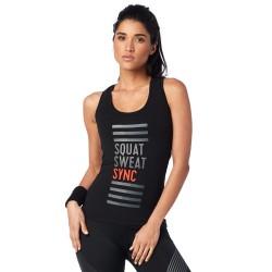 Squat Sweat Sync Racerback