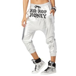 Hip Hop Honey Metallic Harem Pants