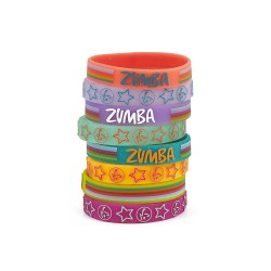 Sparkle On Rubber Bracelets 8 PK