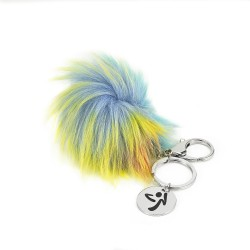 Believe In Magic Puff Keychain