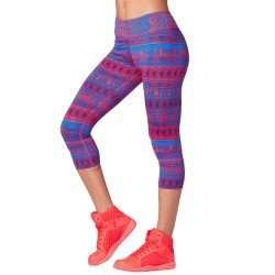 Zumba For All Perfect Capri Leggings