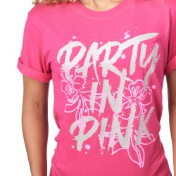 Party In Pink Tee