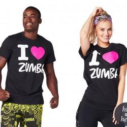 I Love Zumba Tee