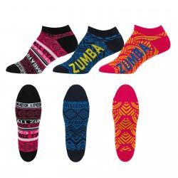 More Zumba Ankle Socks 3 PK