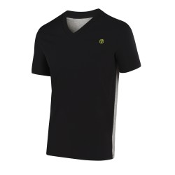 Two-Tone V-Neck Tee