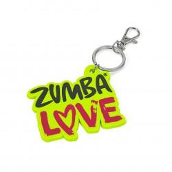 Zumba Love Keychain