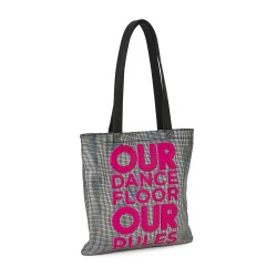 Our Dancefloor Metallic Tote Bag