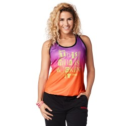 Zumba Rockin' It Bubble Tank