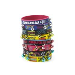 Zumba For All Rubber Bracelets 8 PK